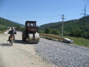 Motor en bulldozer