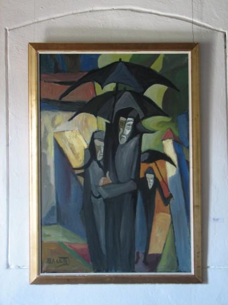 Schilderij van onbekende kunstenaar, gezien in Roemenië