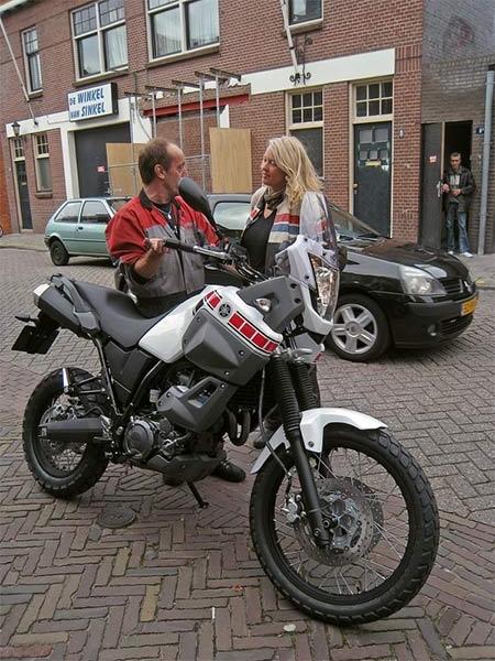 Yamaha Tenere met nieuwe eigenaar