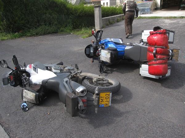 Gevallen motoren