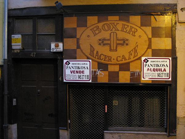 Boxer Racer Cafe