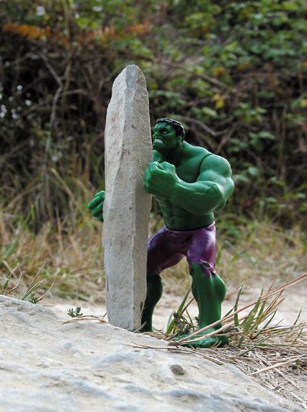 Hulk met pijlpunt