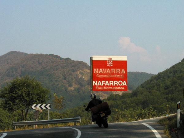 Rood bord met Navarra