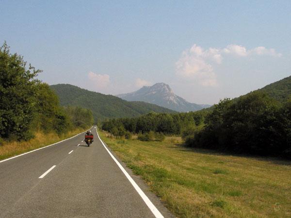 Eenzame berg