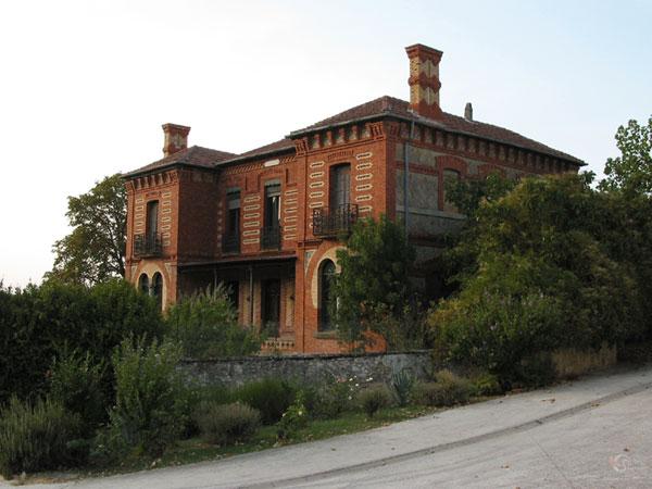Bakstenen villa
