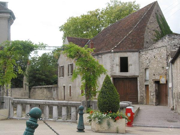 Oude Bourgondische huizen