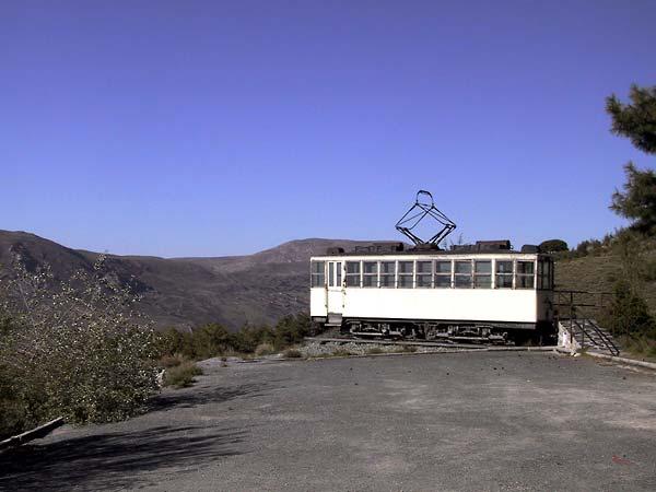 Trammetje hoog in de Sierra Nevada