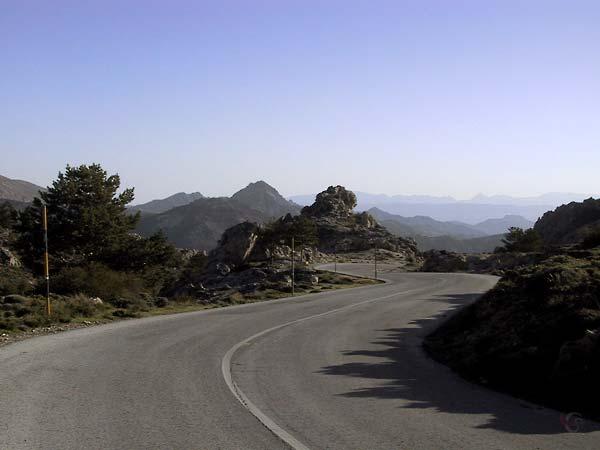 Prachtige eg en geweldig berglandschap
