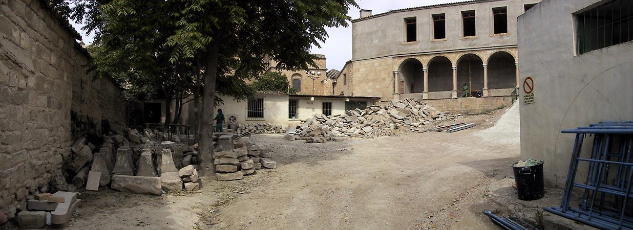 Bezig met het restaureren van een renaissancehuis