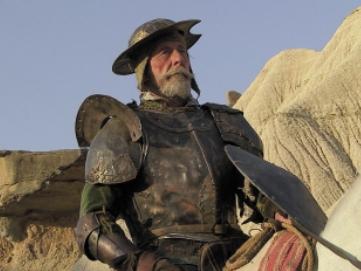 Jean Rochefort als Don Quichotte