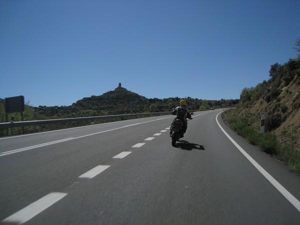 Cadiz op de motor 6, La Seu d' Urgell - Zaragoza