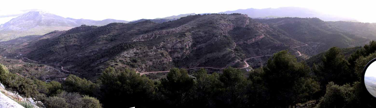 Bergen van geplooid gesteente