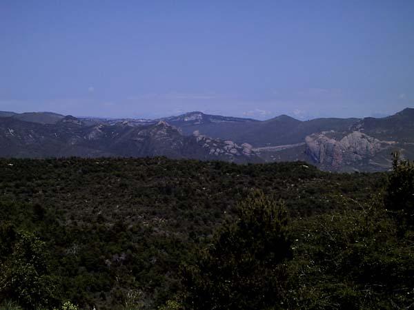Bergen, en daar achter ook weer bergen