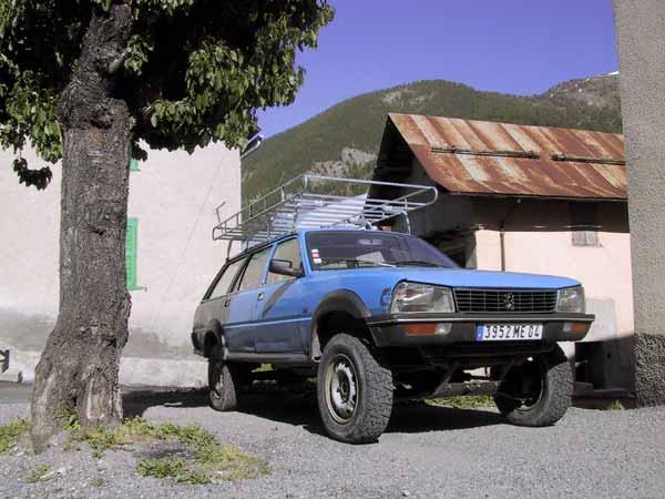 """Peugeot 4X4. (antes que existieran los """"CroosOver&"""